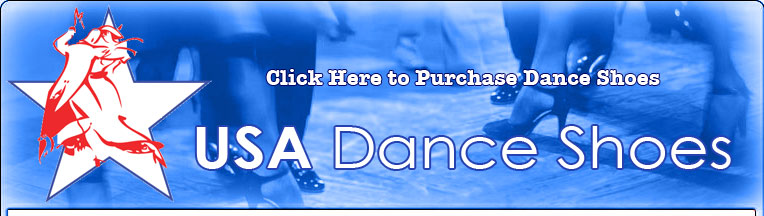 Usa Dance Shoes - Ballroom Dancing Shoes
