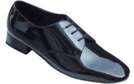 Donald - Black Patent Leather Ballroom Dance Shoe