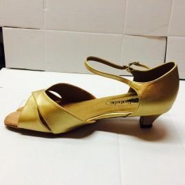 Michelle Gold Latin or Ballroom Dance Shoe
