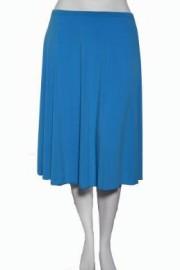 Plus Size  Skirt- Blue