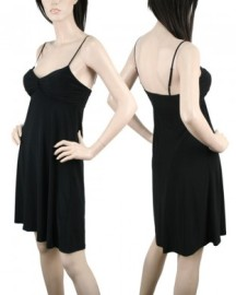Black Thin Strap Dress