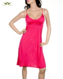 Thin Strap Dress - Fuscia , Yellow or Orange