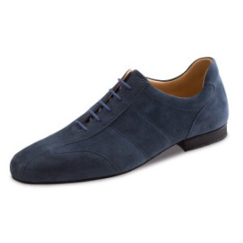 28045 Blue Suede Ballroom Dance Shoe