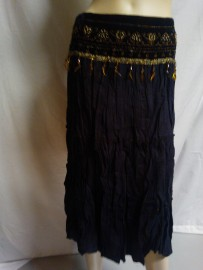 Black Skirt with Detail