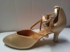 Kristen Light Gold - Ballroom Dance Shoe