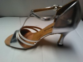 Melanie Silver - Latin or Ballroom Dance Shoe