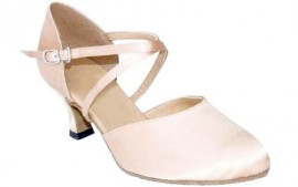 Carol - Flesh Satin - Ballroom Dance Shoe