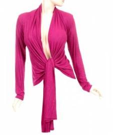 Pink Open Cardigan