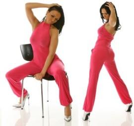 Pink Halter Bodysuit