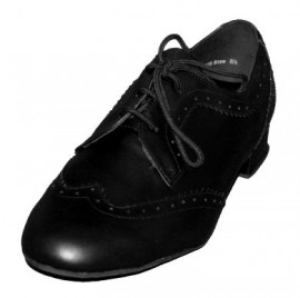 Tom - Black Leather Ballroom Dance Shoe